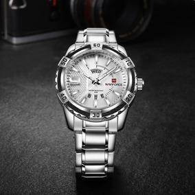 Relógio Masculino Naviforce Militar Luxo Original + Caixinha