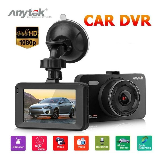 Anytek A78 Wide Angle Hd Gravador De Conducao De Carro