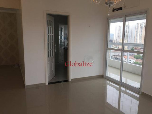 Imagem 1 de 14 de Apartamento À Venda, 86 M² Por R$ 640.000,00 - Ponta Da Praia - Santos/sp - Ap0052