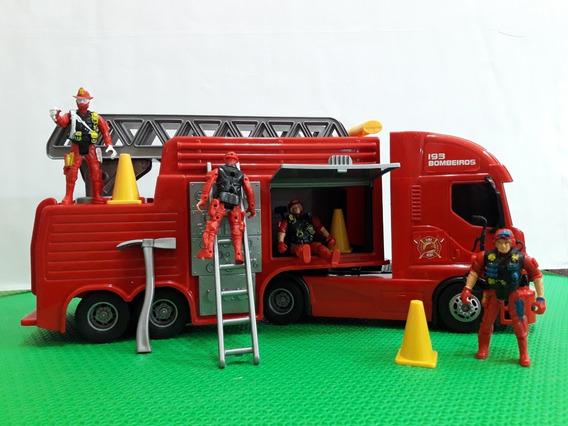 Brinquedo Infantil Carro Caminhão Bombeiro