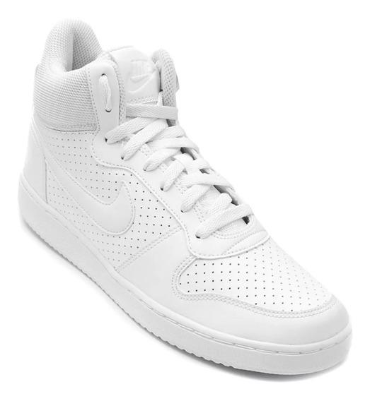 Tênis Nike Court Borough Mid Branco Unissex Original 38 E 41