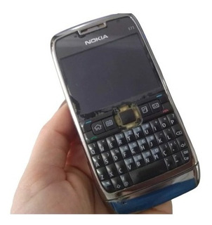 Celular Nokia E71 Preto - Para Retirada De Peças
