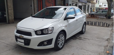 Chevrolet Sonic 1.6 Ltz Mt 4 Puertas 2013 Blanco Unico !!