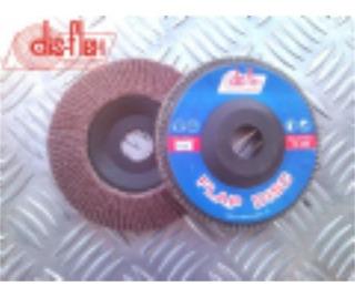 Disco Flap Disflex 7x100 Oxido Aluminio 9039 Kit C/5