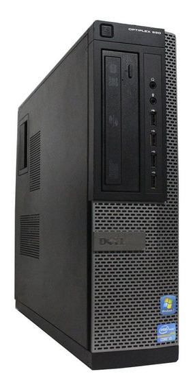 Cpu Pc Desktop Dell Core I5 3.10ghz Ssd 240gb 4gb Dvd #top