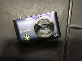 Máquina Fotográfica Samsung St2014f Cores Branca Ou Azul