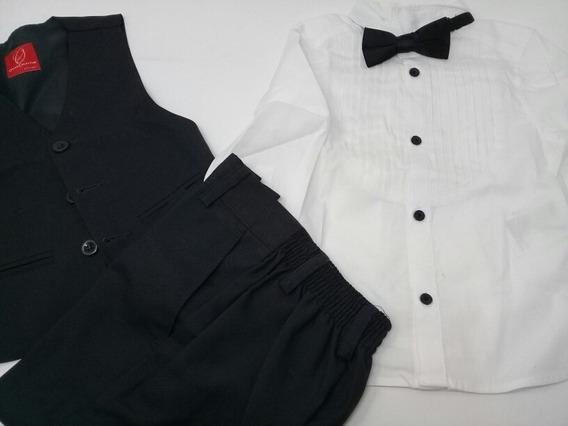 Traje Oscar Collection Y Camisa H&m Niño. La Segunda Bazar