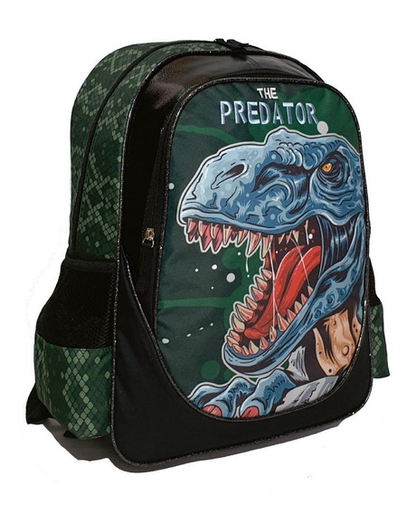 Mochila Dinosaurio Predator 17 Pulgadas Escolar