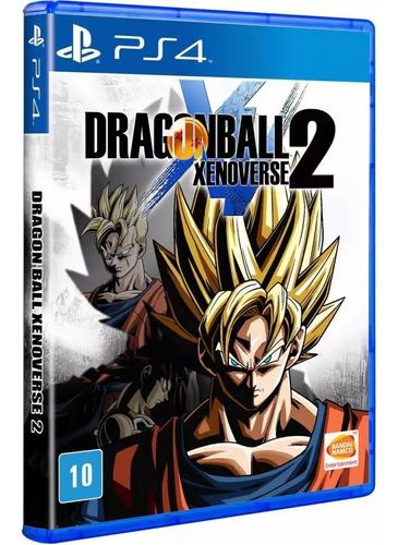 Imagem 1 de 6 de Dragon Ball Xenoverse 2 Ps4 Mídia Física Lacrago
