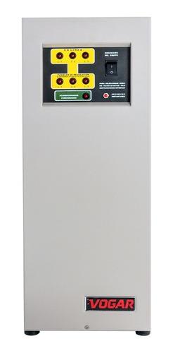Regulador Electrónico De Voltaje Vogar® Trifásico 6 Kva