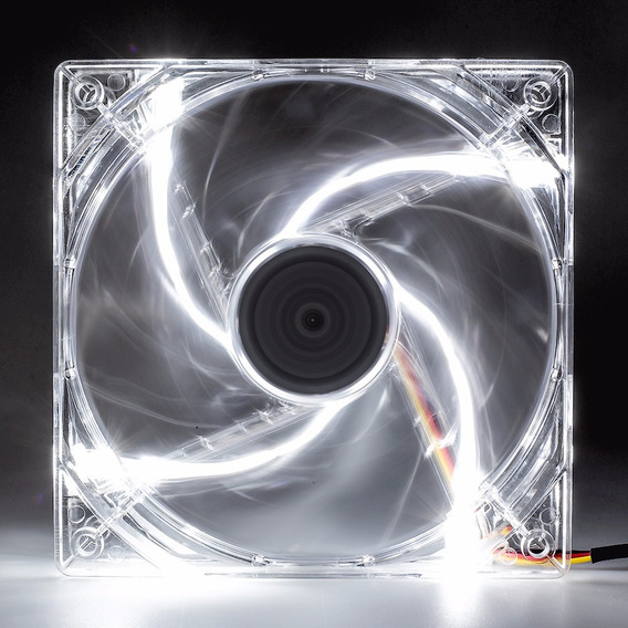 Cooler Fan Pc Gamer 120mm Led Branco Ventoinha Dx-12l