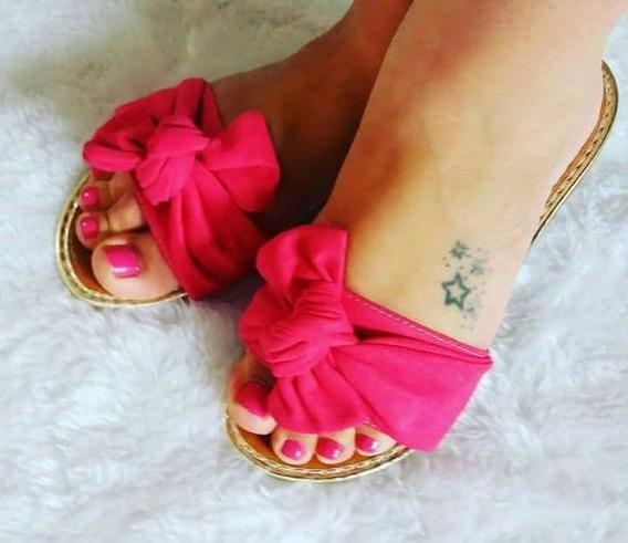 Rasteirinha Pink Do 23 Ao 40