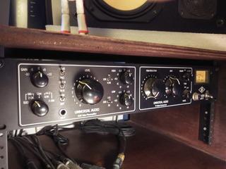 Preamplificador/compresor/limitador Universal Audio La-610