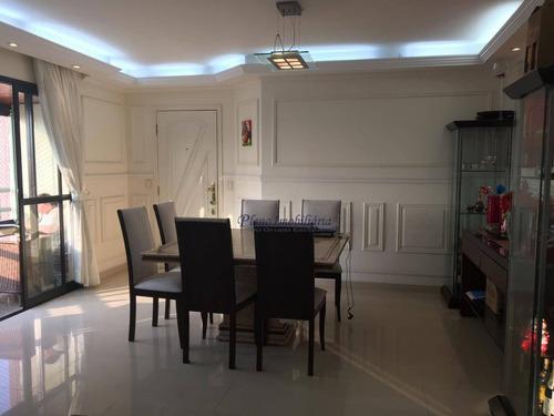 Apartamento Com 3 Dormitórios À Venda, 105 M² Por R$ 904.000,00 - Santana - São Paulo/sp - Ap0784