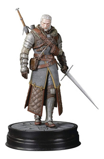 Geralt Dark Horse Deluxe The Witcher Wild Hunt 100% Original