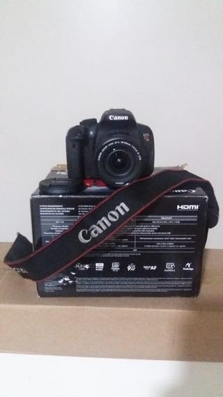 T5i Com Lente 18-55mm. Touchscreen. 6 Meses De Uso. Canon