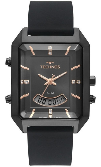 Relógio De Pulso Technos Pulseira Silicone T200ai/2p