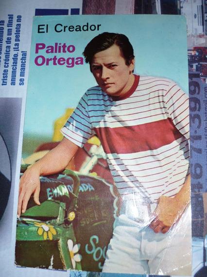 Postal De Palito Ortega Rca Original De La Epoca