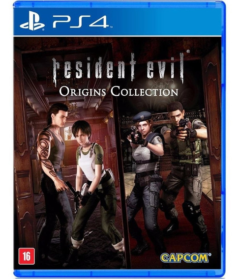 Resident Evil Origins Para Ps4! Midia Física Lacrado Novo
