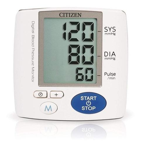 Aparelho medidor de pressão arterial digital de pulsoCitizen CH-617