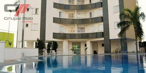 Apartamento Com 2 Dormitórios, 67 M² - Venda Por R$ 320.000,00 Ou Aluguel Por R$ 1.500,00/mês - Parque Senhor Do Bonfim - Taubaté/sp - Ap0158