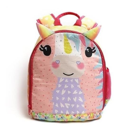 Mochilas Escolares Niñas Unicornio Importada Animalitos