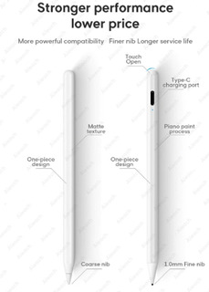 Lapiz Reemplaza Apple Pencil iPad 6 7 Mini 5 Pro 11 12 10.5