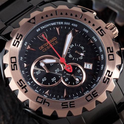 Relógio Detomaso Cessole Black - Bronze