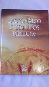 Dicionario De Estudos Biblicos