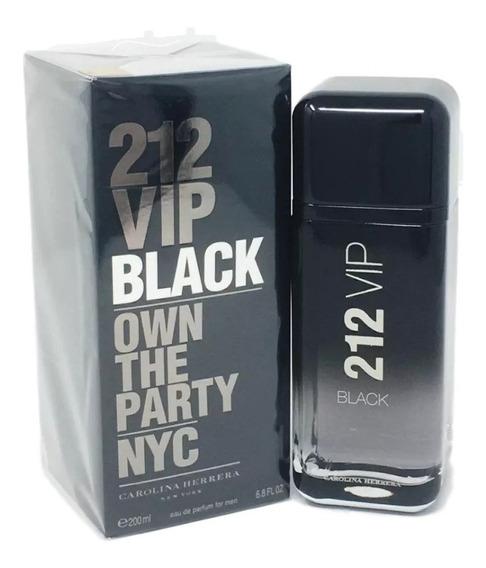 Perfume Masculino 212 Vip Black Edp Ch 200ml