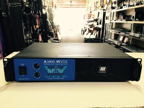 Potencia Machine Wvox A1400 400w Rms - Loja Jarbas Inst
