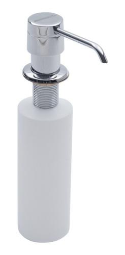 Imagen 1 de 7 de Dosificador De Jabón Liquido Johnson Apido Acero Pulido