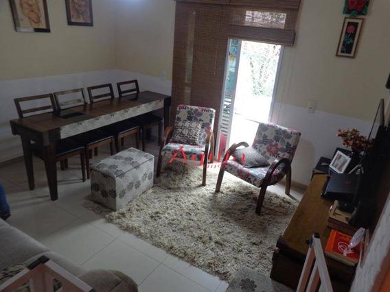 Sobrado Com 2 Dormitórios À Venda, 92 M² Por R$ 360.000 - Parque Novo Oratório - Santo André/sp - So0956
