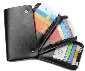 b5dfe56e2 Cartera Para Tarjetas De Credito E Identificaciones en Mercado Libre ...