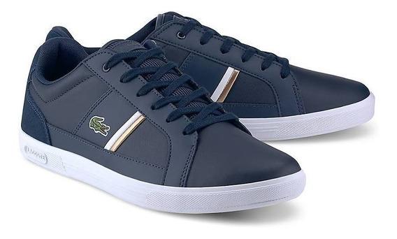 Zapatilla Hombre Lacoste Europa 100% Original Zapato Teni
