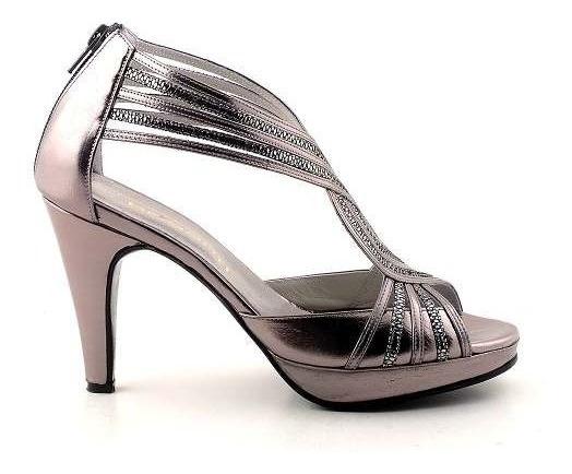 Zapato Cuero Mujer Briganti De Vestir Taco 9 - Mcsd04256