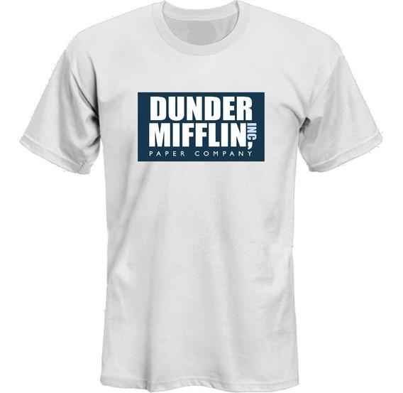 Remeras Dunder Mifflin The Office Ver Fotos! *mr Korneforos*