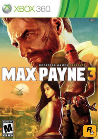 Max Payne 3 Xbox 360 Midia Fisica Original Lacrado
