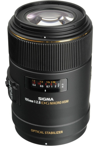 Lente Sigma 105mm F2.8 Macro Nikon 4 Años Garantía Oficial