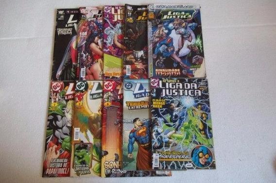 Lote 10 Gibis Liga Da Justiça Veja Fotos B2