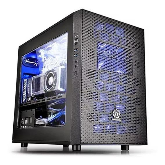 Gabinete Tt Core X1 Black/win/secc Case Ca-1d6-00s1wn-00