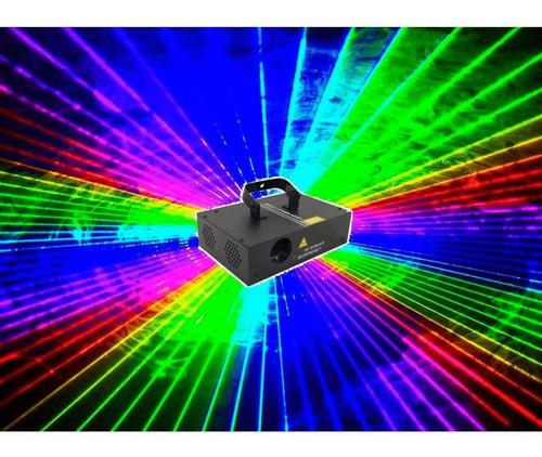 Laser B2000 Rgb Original 400mw Sensor Audio Dmx Somos Loja