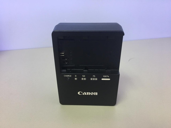 Carregador Canon Lc-e6e Para Lp-e6 Original