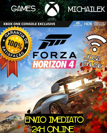 Forza Horizon 4 Xbox One Mídia + Jogo Brinde