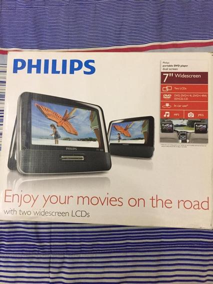 Dvd Player Philips Portátil Automotivo