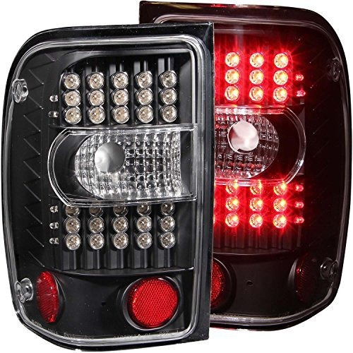 Anzo Usa 311107 Ford Ranger Black G2 Led Conjunto De Luces T