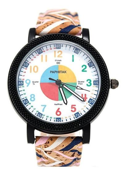 Reloj De Corcho Vintage Dama Caballero + Envío Gratis