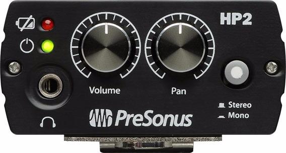 Presonus Hp2 Amplificador Auricular Stereo Profesional