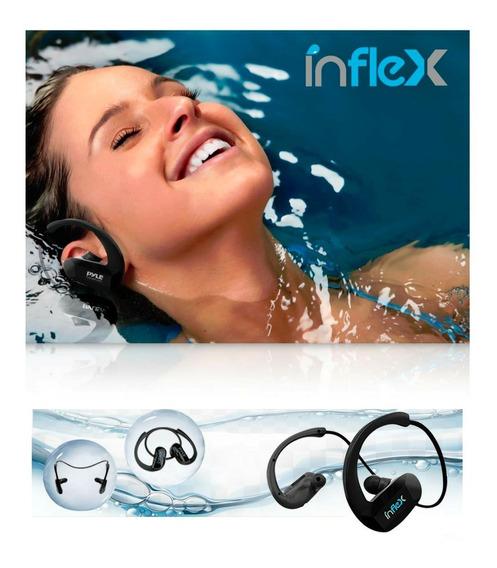 Fone Ouvido Pyle-inflex Natação Ipx8 Memória 8gb Bluetooth