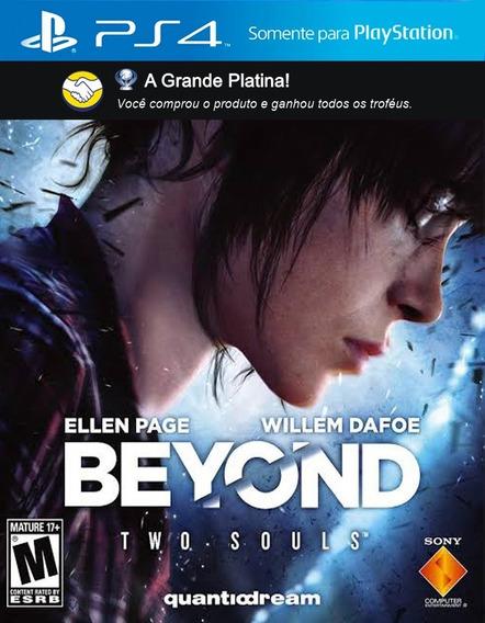 Troféus: Beyond Two Souls - P S 4